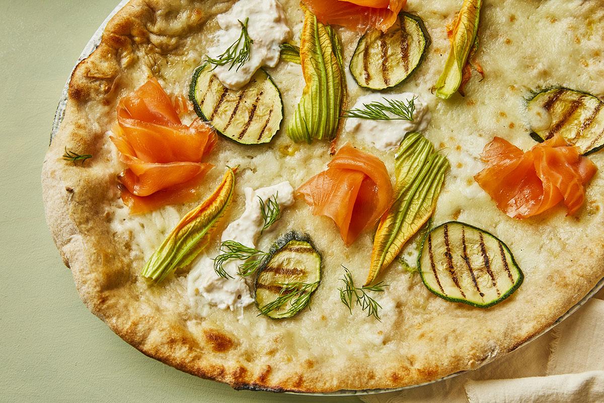 Summer 2021 - Pizza Salmone Affumicato