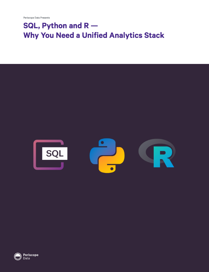 SQL, Python and R — Why You Need a Unified Analytics Stack
