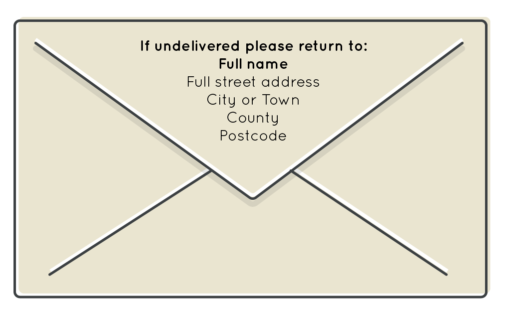 How To Address An Envelope Envelope Format Writing Guide