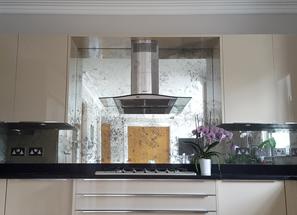 Mirrored Splashbacks Beautiful Kitchen Panelling