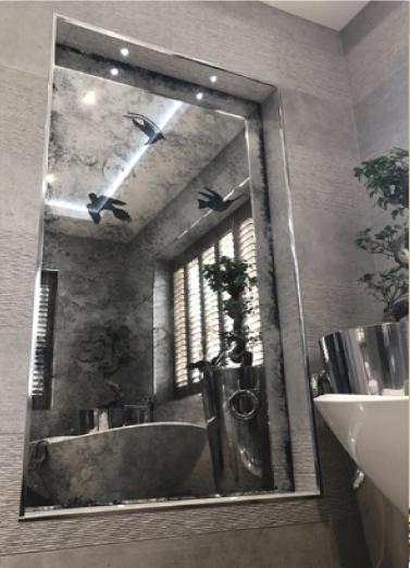 Birds - Shower room project
