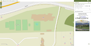 Parks Finder Map Application