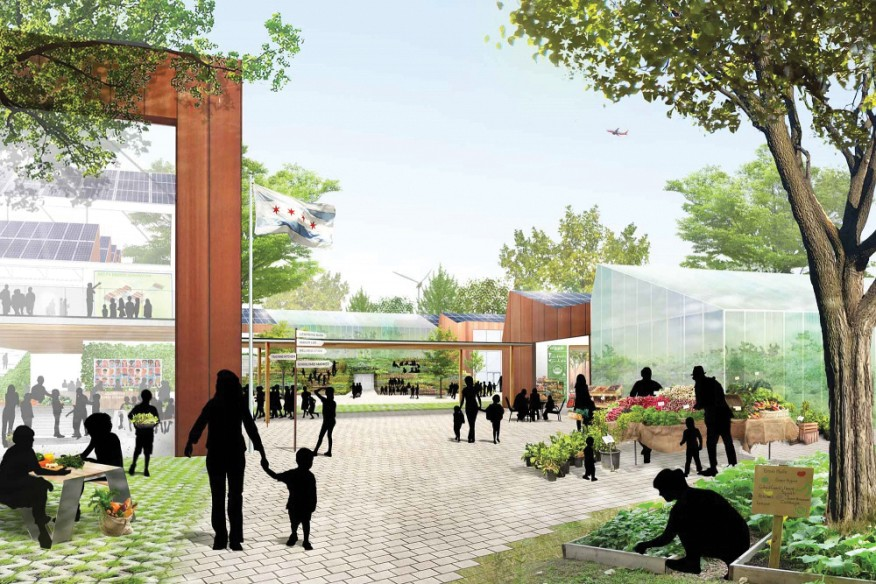 A rendering of the Academy for Global Citizenship