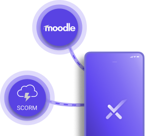 Integrated eLearning with Moodle and SCORMI