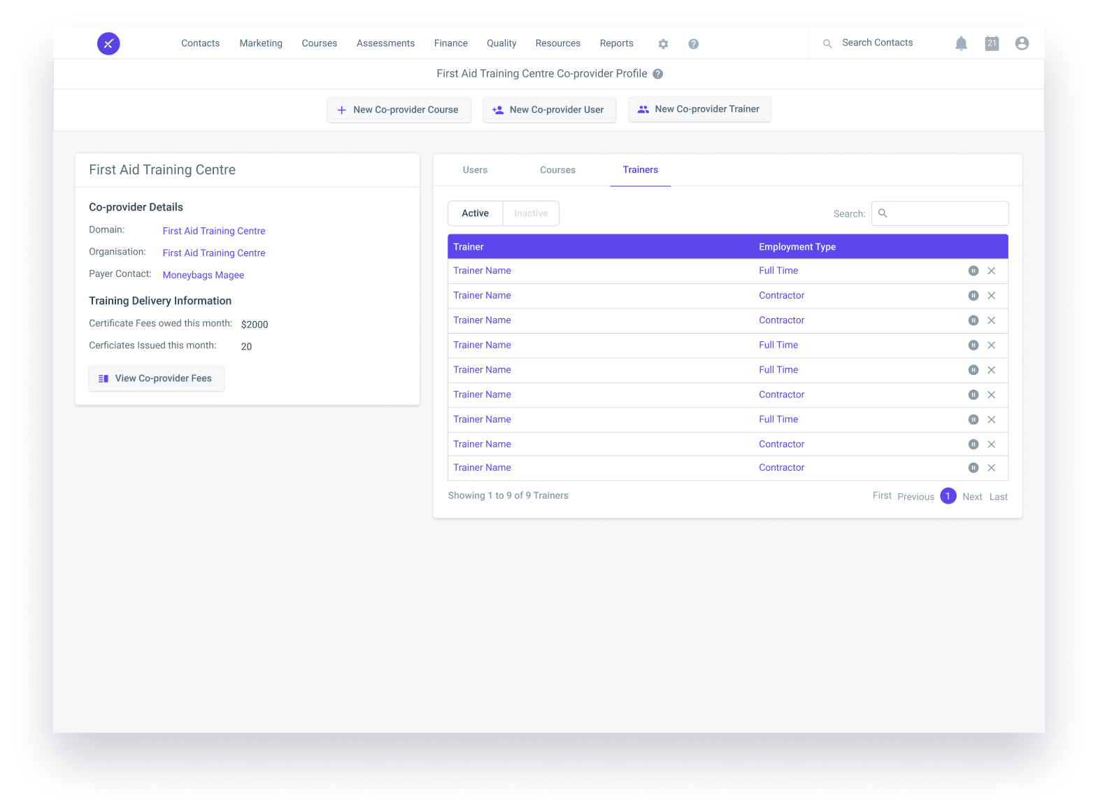 aXcelerate Partner Portal
