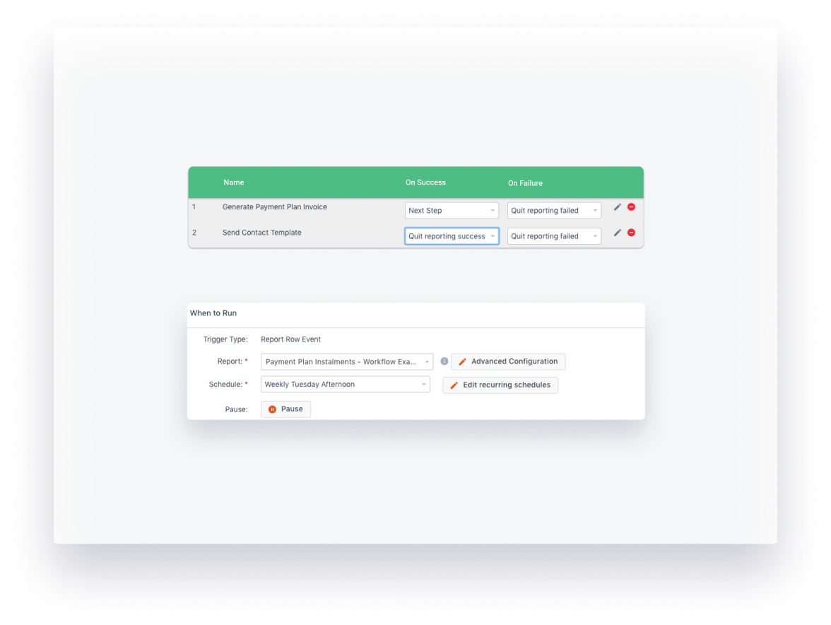 Workflow automation in aXcelerate
