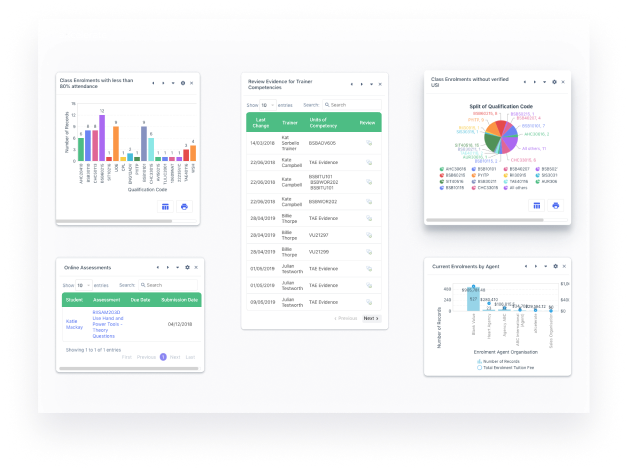 Stay compliant with aXcelerate with advanced reporting