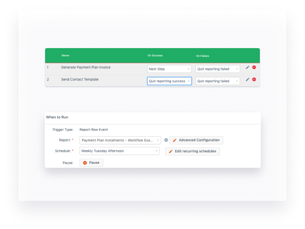 Automate key tasks and reports in aXcelerate