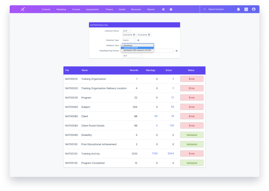 core compliance features in aXcelerate