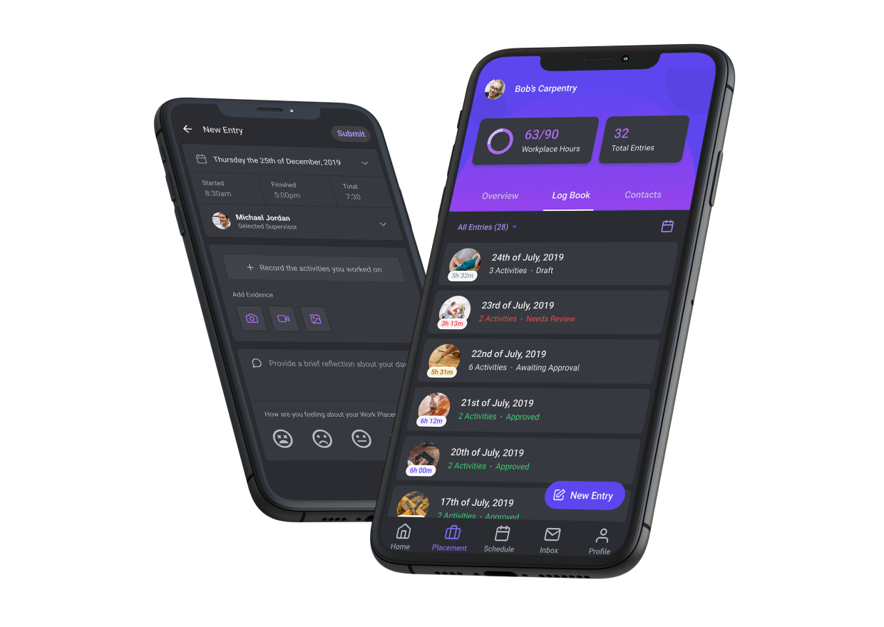 aXcelerate Work-based Learning App