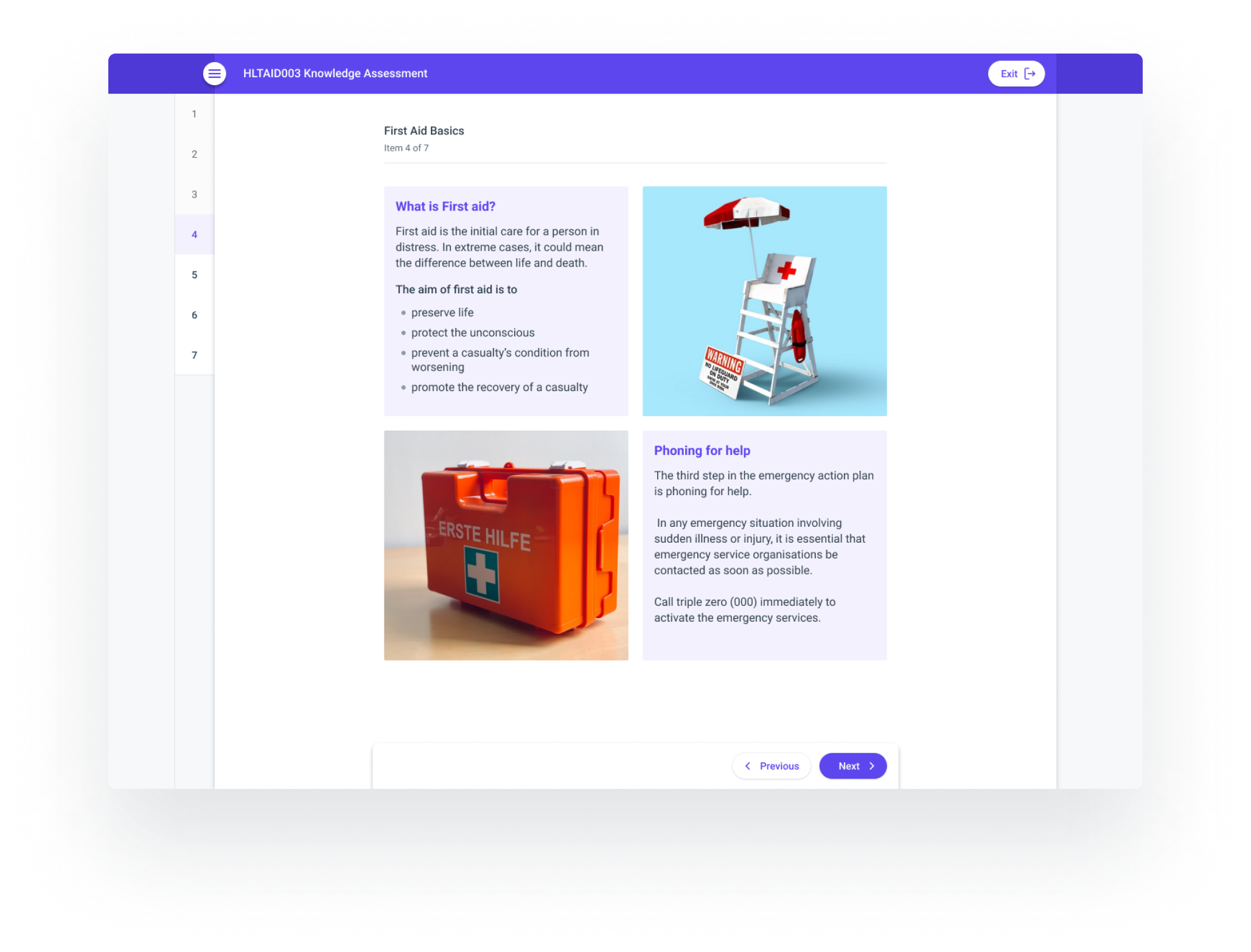 Creative course content in aXcelerate