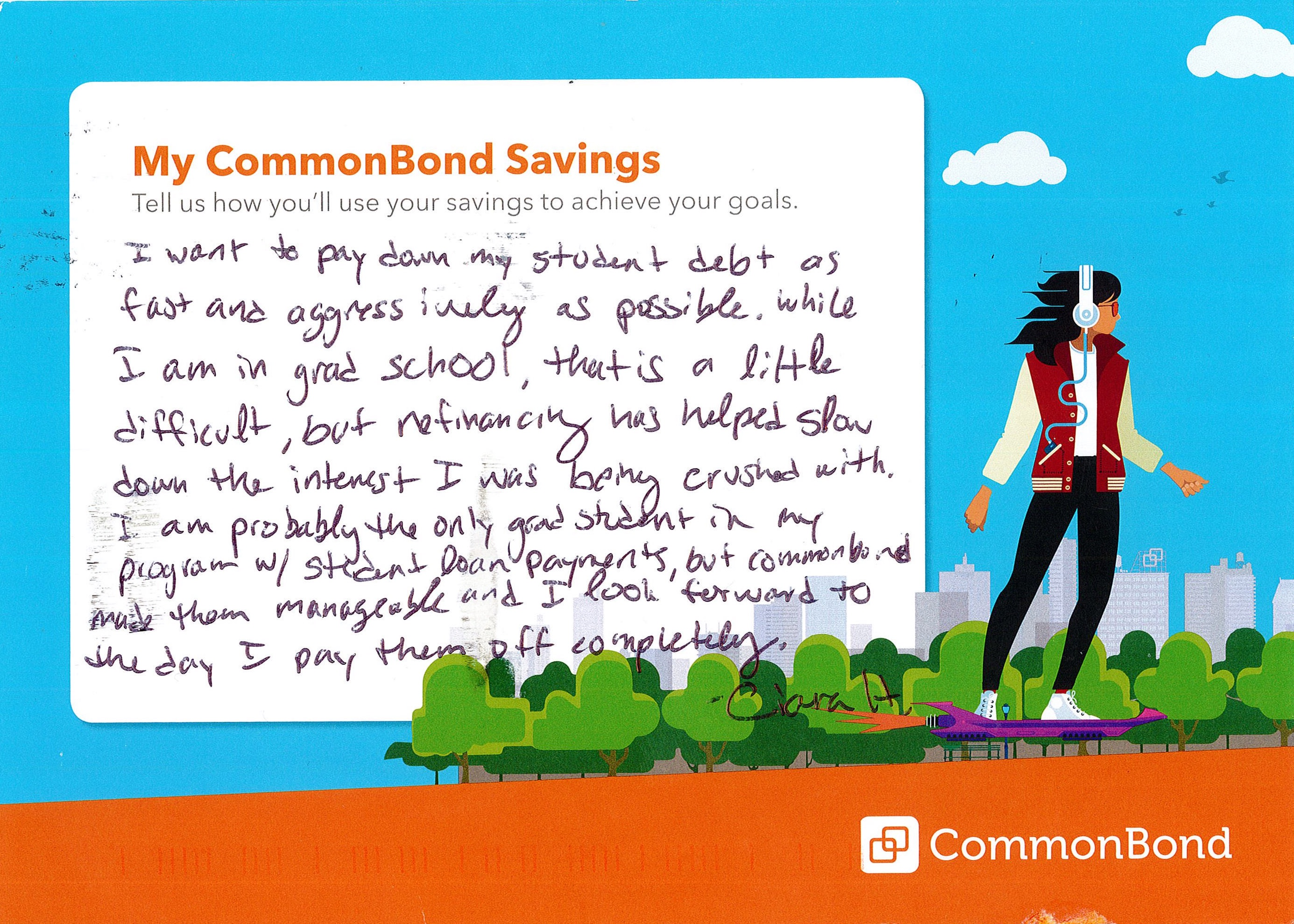 Refi Sigh of Relief: CommonBond Members Describe That ...