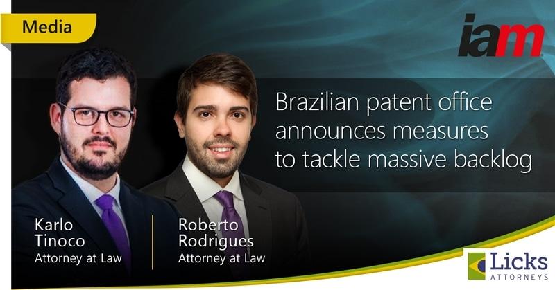 ブラジル特許庁がバックログ対策を発表