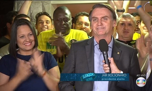 Bolsonaro as President: address to the Brazilian people on October 28 after his election