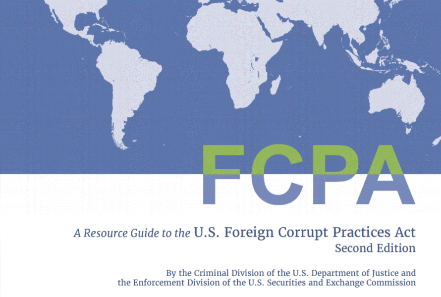 New Version of the U.S Foreign Corrupt Practices Act (FCPA) Resource Guide