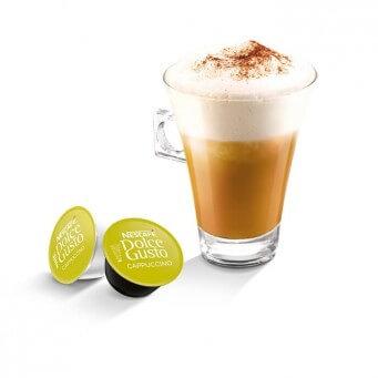 Cappuccino в капсулах для кофемашин Nescafe Dolce Gusto