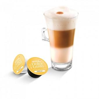 Latte Macchiato Vanilla в капсулах для кофемашин Nescafe Dolce Gusto