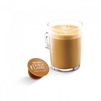 Café Au Lait в капсулах для кофемашин Nescafe Dolce Gusto