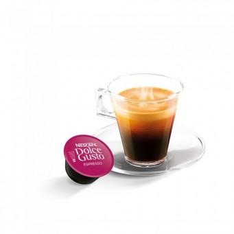 Espresso в капсулах для кофемашин Nescafe Dolce Gusto