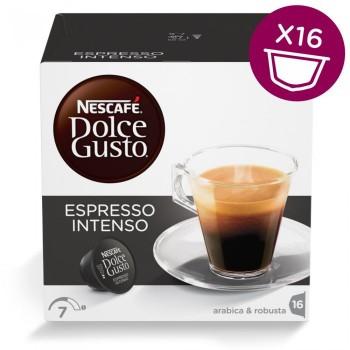 Espresso Intenso в капсулах для кофемашин Nescafe Dolce Gusto