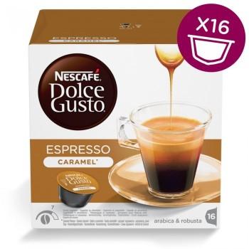 Espresso Caramel в капсулах для кофемашин Nescafe Dolce Gusto
