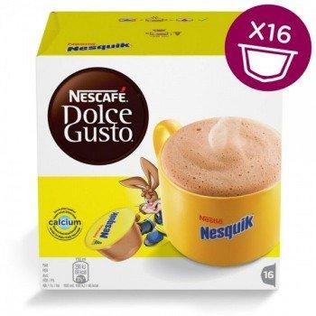 Какао Nesquik (Несквик) в капсулах для кофемашин Nescafe Dolce Gusto