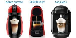 Капсульные кофемашины для дома