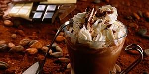 Рецепт кофе с шоколадом и сливками