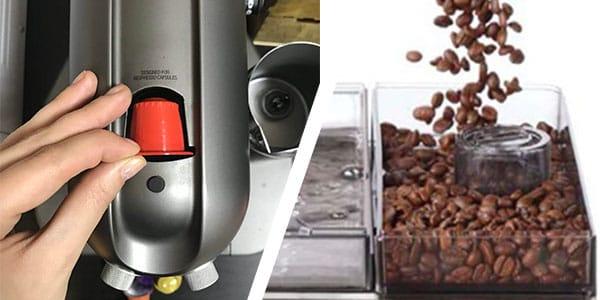 Капсульная или зерновая кофемашина - фото