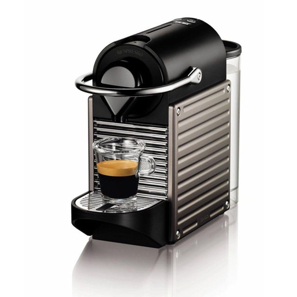 Фотография капсульной кофмашины Nespresso Pixie C60 Electric Titan