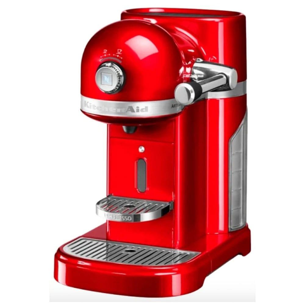 Фото капсульной кофеварки KitchenAid 5KES 0503 EER цвет ярко красный