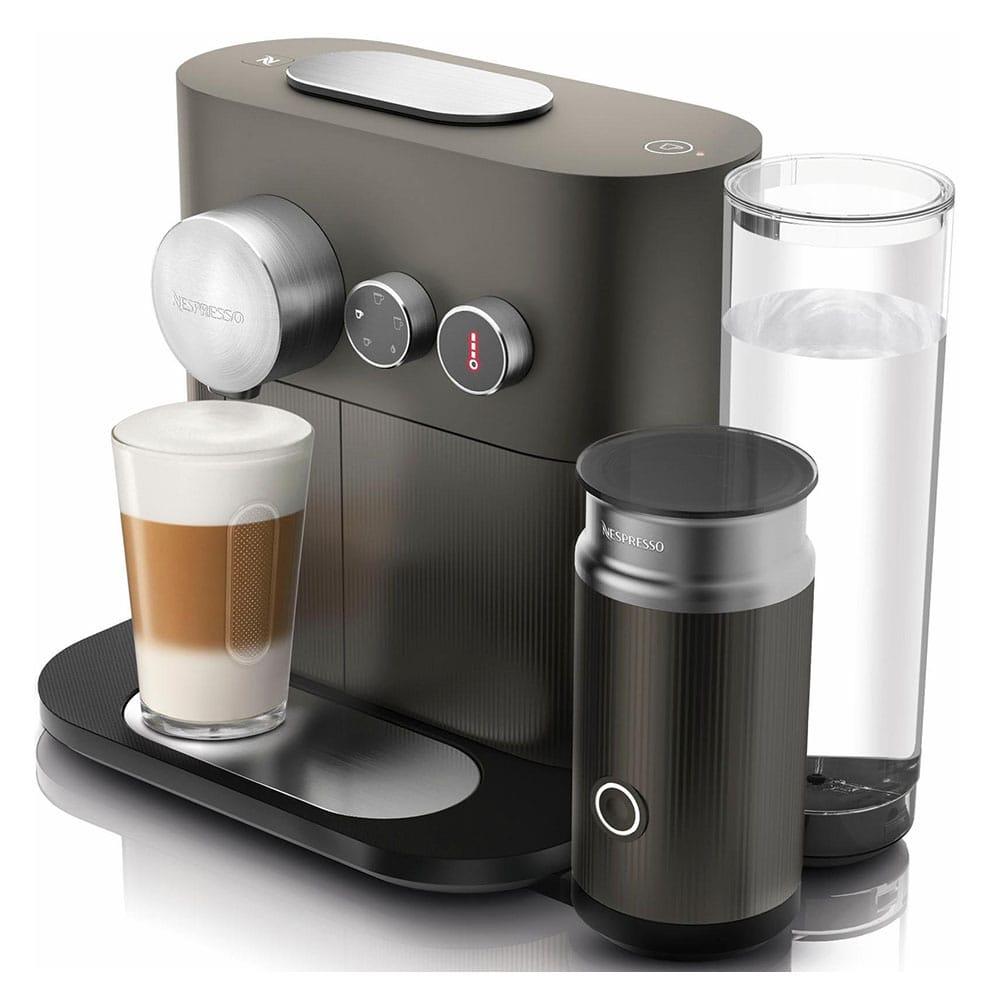 Фото капсульной кофемашины Delonghi Nespresso Expert & Milk Anthracite Grey EN355.GAE