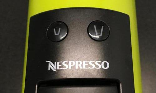 2 кнопки для приготовления эспрессо и лунго на капсульной кофемашине Essenza Mini EN 85 LAE