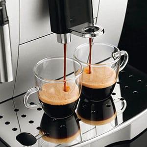 Одновременное приготовление 2 чашек на De'Longhi Magnifica S ECAM 22.110.SB