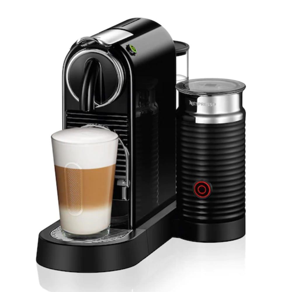 Капсульная кофемашина Nespresso Citiz Milk Black