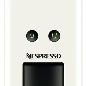 Два режима приготовления кофе (эспрессо и лунго) на кофемашине Essenza Mini C30 White