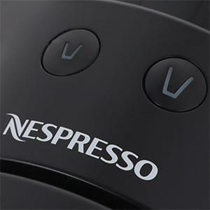 Фото капсульной кофемашины Essenza Mini EN85.B вид сверху кнопки приготовления