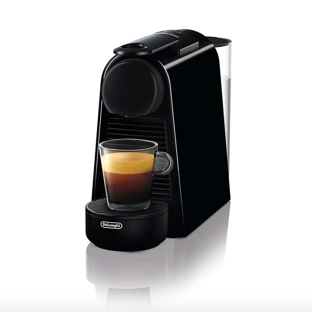 Фото капсульной кофемашины Delonghi Nespresso Essenza Mini EN85.B вид спереди