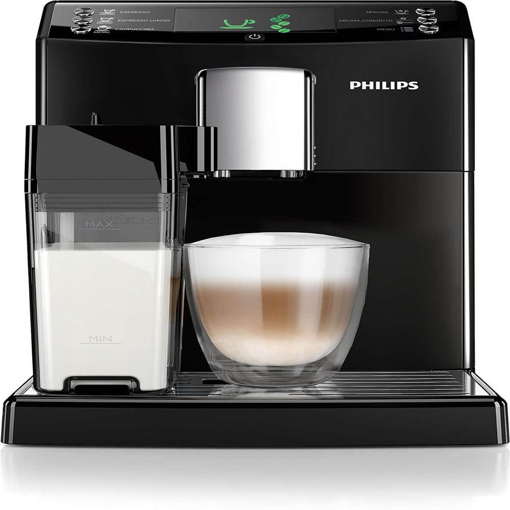 Кофемашина автоматическая зерновая Philips HD8828 3100 Series-фото-вид спереди