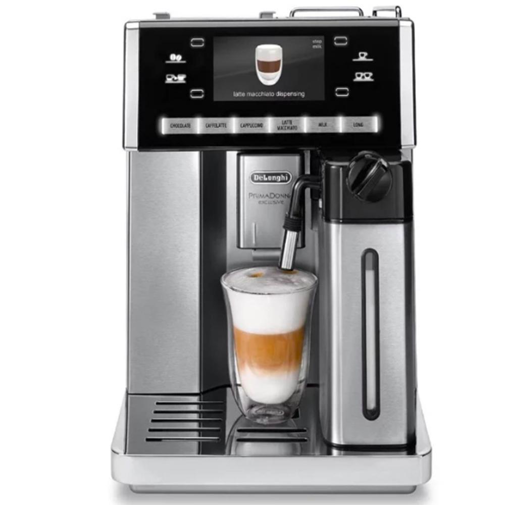 Фото кофемашины автоматической зерновой De'Longhi PrimaDonna Exclusive ESAM 6900 M