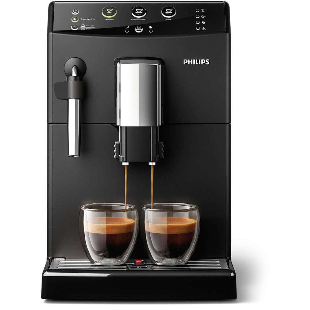 Кофемашина автоматическая зерновая Philips HD8827 3000 Series фото спереди