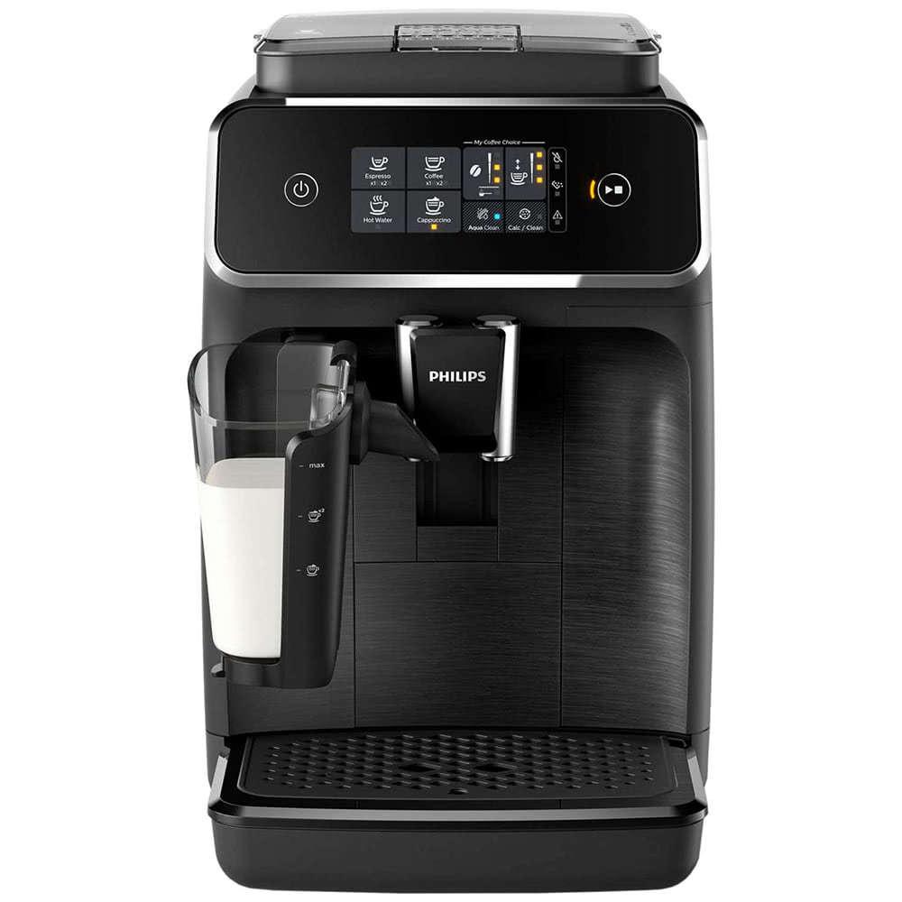 Кофемашина автоматическая зерновая Philips EP3558 3100 Series фото спереди