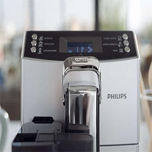 регулируемый носик подачи кофе в соответствии с размером чашки Philips EP4050 4000 Series