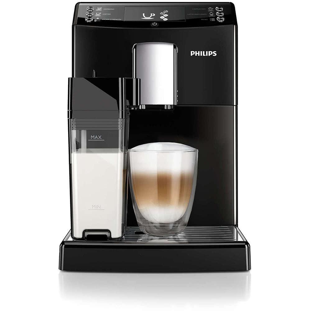 Кофемашина автоматическая зерновая Philips EP3559 3100 Series фото спереди