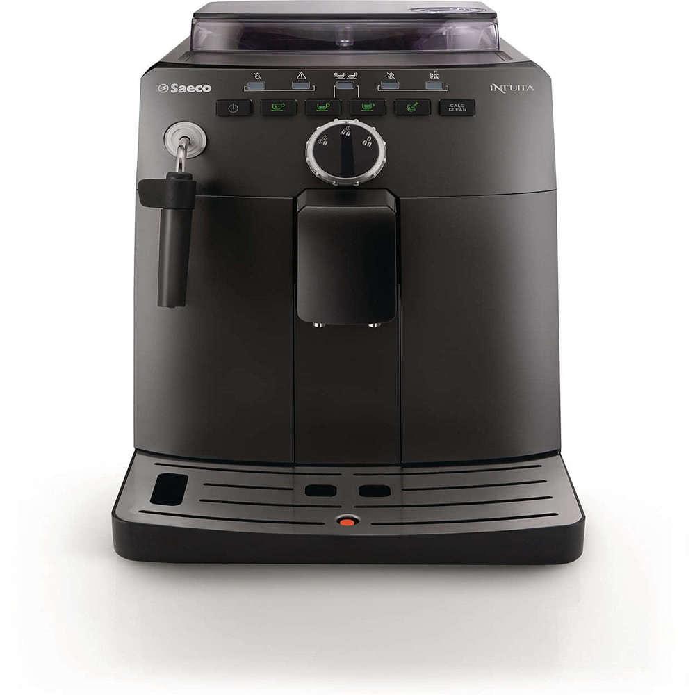 Кофемашина автоматическая зерновая Saeco HD 8750 фото спереди