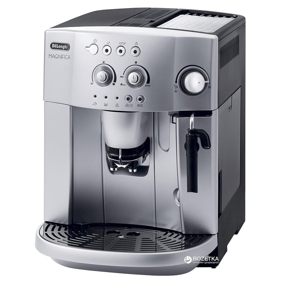 Кофемашина автоматическая зерновая De'Longhi Magnifica ESAM 4200 фото спереди