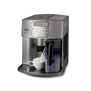 регулировка дозатора под высоту чашки 80-110 мм в кофемашине  De'Longhi Magnifica ESAM 4500
