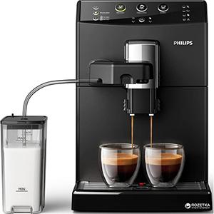 12 настроек степени помола в кофемашине  Philips EP2020 Series 2200