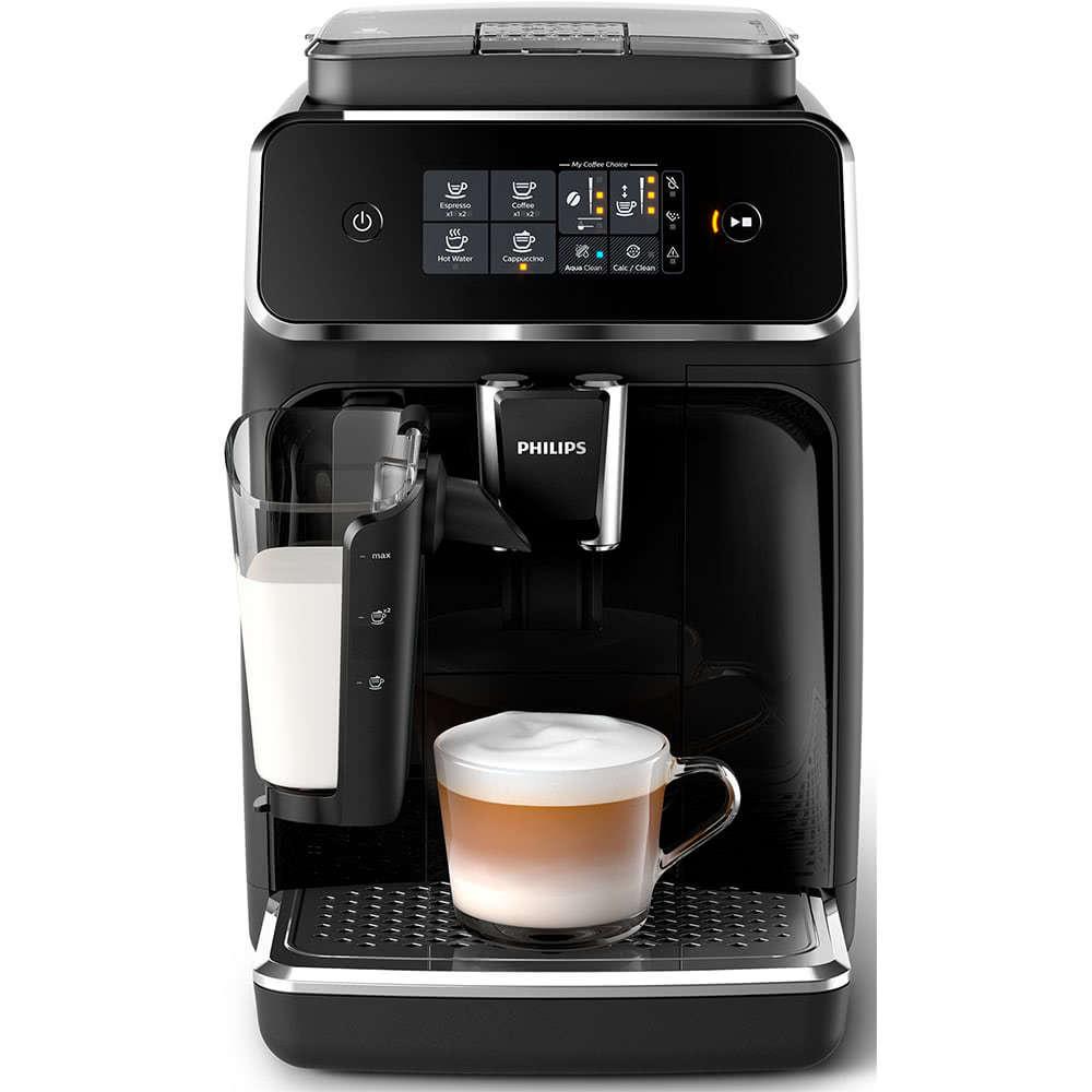 Кофемашина автоматическая зерновая Philips EP2020 Series 2200 фото спереди
