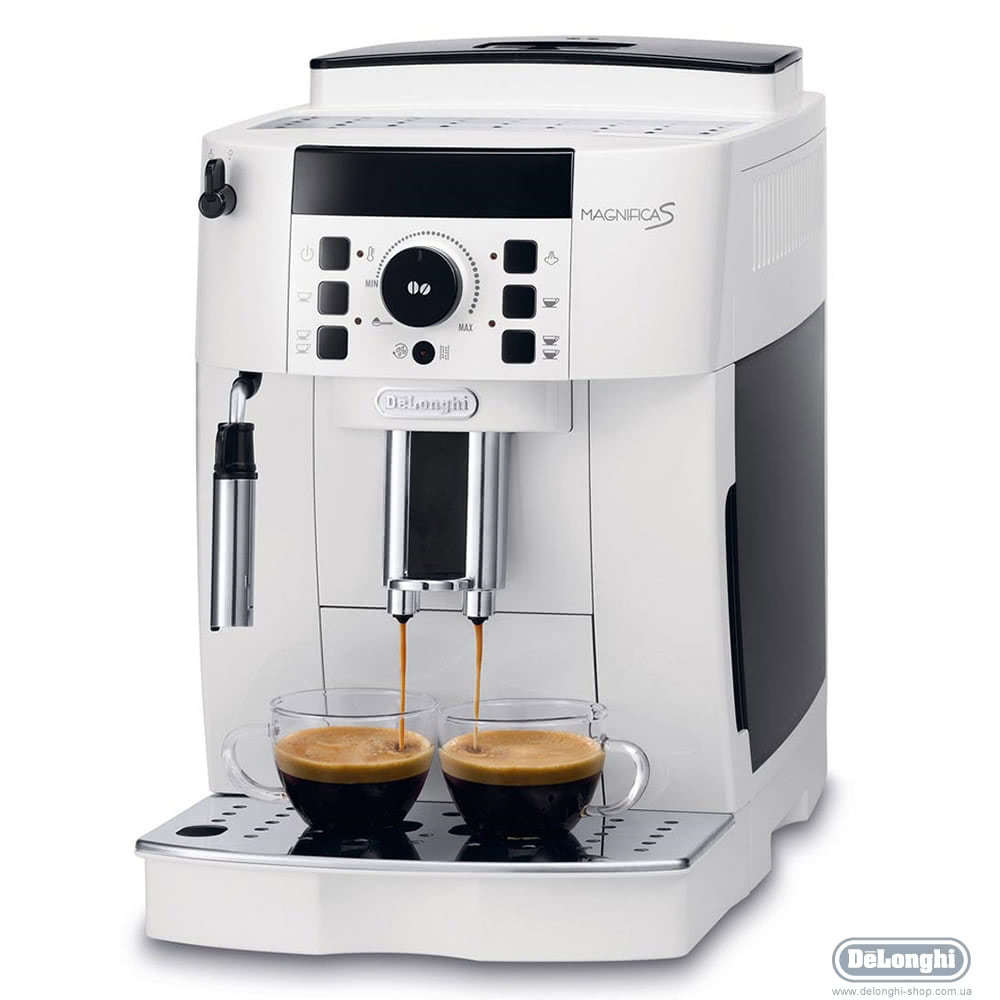 Кофемашина автоматическая зерновая De'Longhi Magnifica S ECAM 21.117 фото спереди